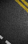 stock photo of tar  - Asphalt as abstract background or backdrop - JPG