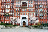 picture of kensington  - Typical palace near kensington garden London UK - JPG