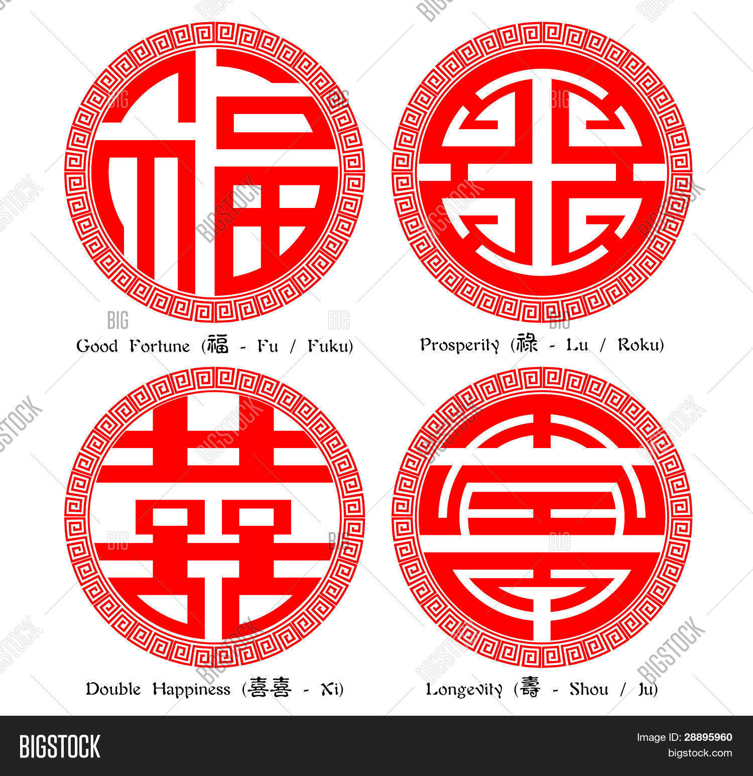 Chinese Character Of F...