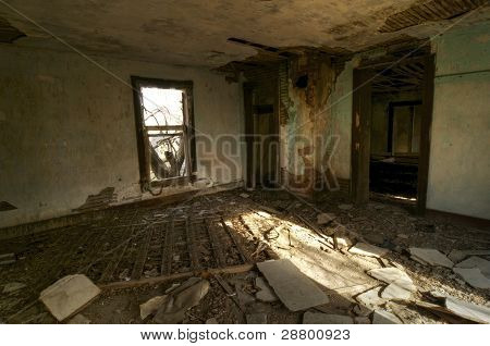 Abandoned Bedroom
