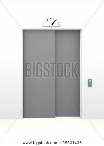 Closed Elevator