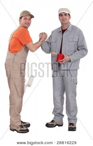 Painters forming a pact