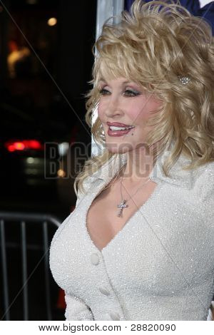 "LOS ANGELES - JAN 9:  Dolly Parton arrives at the""Joyful Noise"" Premiere at Graumans Chinese Theater on January 9, 2012 in Los Angeles, CA"