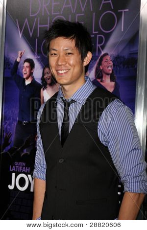 LOS ANGELES - JAN 9:  Roy Huang arrives at the