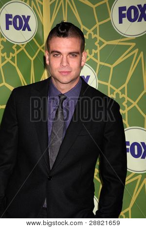 LOS ANGELES - JAN 8:  Mark Salling arrives at the Fox TCA Party - Winter 2012 at Castle Green on January 8, 2012 in Pasadena, CA