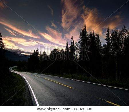 Norwegen Autobahn