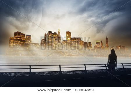 Manhattan in dreams