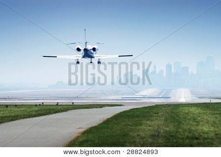 Landing Jetplane