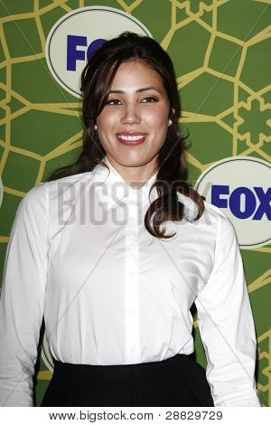 LOS ANGELES - JAN 8:  Michaela Conlin at the FOX All Star Winter TCA Party at Castle Green on January 8, 2012 in Pasadena, California.
