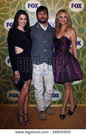 LOS ANGELES - JAN 8:  Dorian Brown; Jason Gann; Fiona Gublemann at the FOX All Star Winter TCA Party at Castle Green on January 8, 2012 in Pasadena, California.