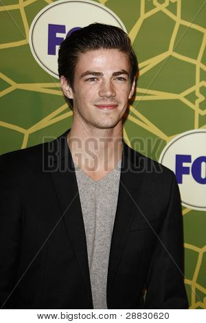 LOS ANGELES - JAN 8:  Grant Gustin at the FOX All Star Winter TCA Party at Castle Green on January 8, 2012 in Pasadena, California.