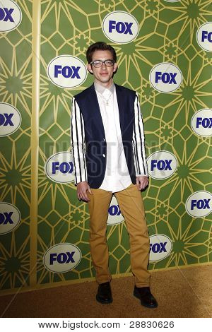 LOS ANGELES - JAN 8:  Kevin McHale at the FOX All Star Winter TCA Party at Castle Green on January 8, 2012 in Pasadena, California.