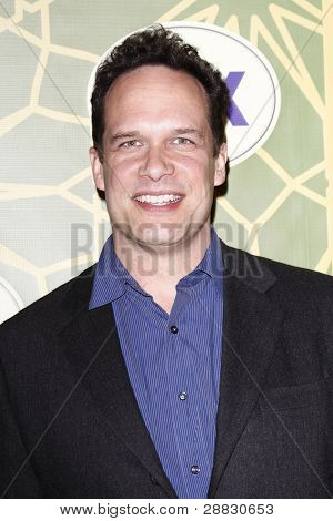 LOS ANGELES - JAN 8:  Diedrich Bader at the FOX All Star Winter TCA Party at Castle Green on January 8, 2012 in Pasadena, California.