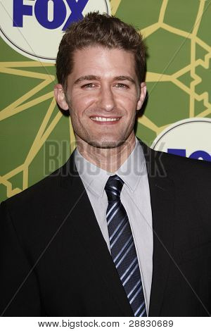 LOS ANGELES - JAN 8:  Matthew Morrison at the FOX All Star Winter TCA Party at Castle Green on January 8, 2012 in Pasadena, California.