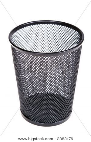 Empty Mesh Recycle Bin