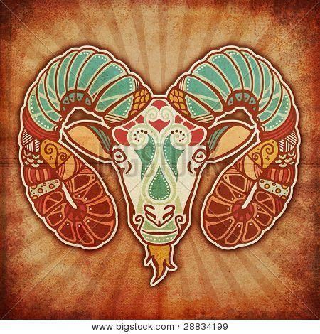 grunge zodiac - aries