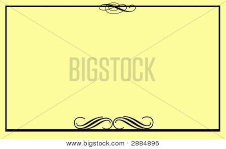 Formal Note Card Beige