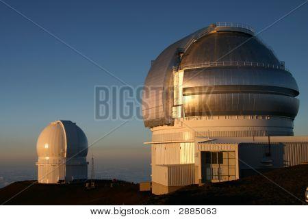 Hawaii Top Of Mauna Kea Observatory