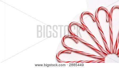 Circle Of Candy Canes