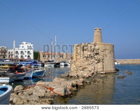 Kyrenia Hafen Zypern