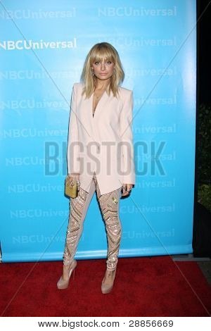 LOS ANGELES - JAN 6:  Nicole Richie arrives at the NBC Universal All-Star Winter TCA Party at The Athenauem on January 6, 2012 in Pasadena, CA