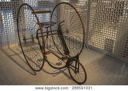 Old Bike Or Vintage Old