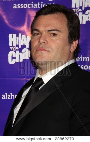 LOS ANGELES - JAN 13:  Jack Black arrives at  the