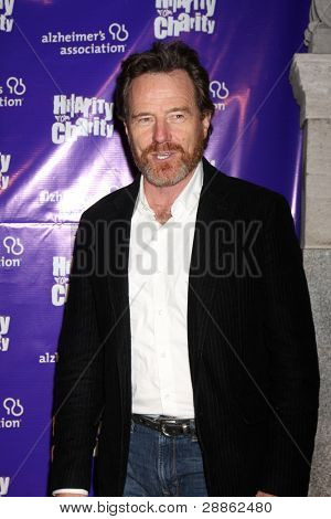 LOS ANGELES - JAN 13:  Bryan Cranston arrives at  the