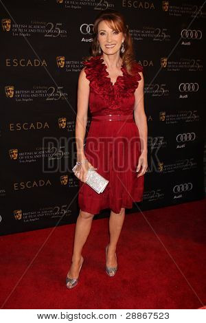 LOS ANGELES - JAN 14:  Jane Seymour arrives at  the BAFTA Award Season Tea Party 2012 at Four Seaons Hotel on January 14, 2012 in Beverly Hills, CA