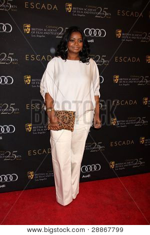 LOS ANGELES - JAN 14:  Octavia Spencer arrives at  the BAFTA Award Season Tea Party 2012 at Four Seaons Hotel on January 14, 2012 in Beverly Hills, CA