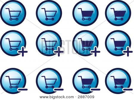 3D Shopping Cart Icon / Icons