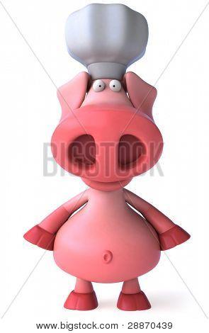Chef Schwein