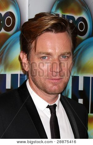 LOS ANGELES - JAN 15:  Ewan McGregor. arrives at  the HBO Golden Globe Party 2012 at Beverly Hilton Hotel on January 15, 2012 in Beverly Hills, CA
