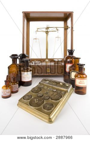 Historically Pharmacist Scales