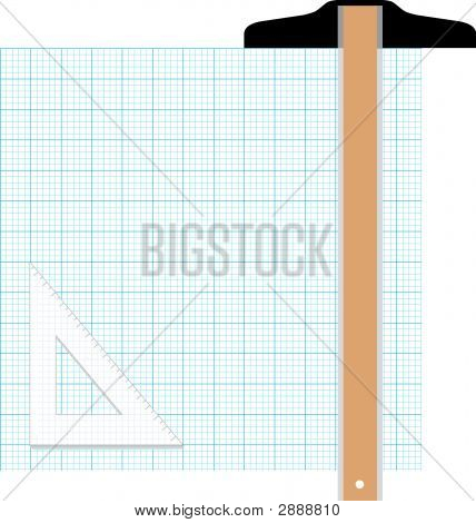 Graph Paper  Drawing Tools Design