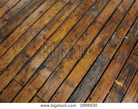 Wet Wood Planks - 1