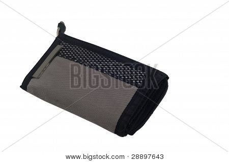 Sport wallet on isolated white background