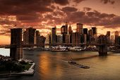 picture of new york night  - New York - JPG