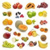 Постер, плакат: Смешанные фрукты коллекции