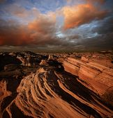 stock photo of american indian  - Beauty of Red Rock park - JPG