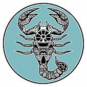 image of scorpio  - Zodiac signs  - JPG