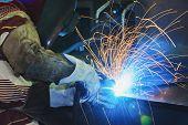 Steel Welding poster