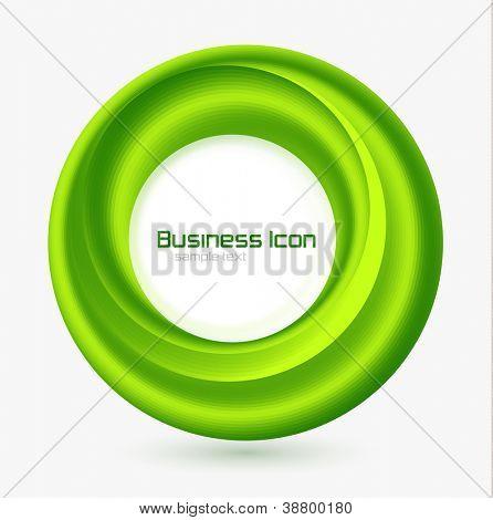 Conceito de redemoinho de ecologia de negócios