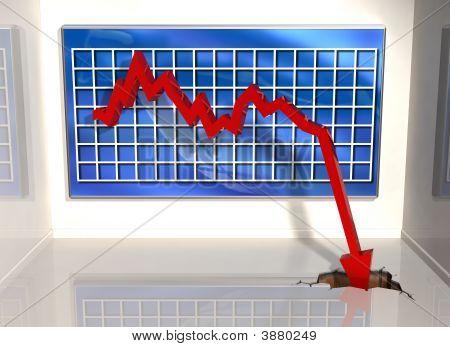 Sharp Downturn