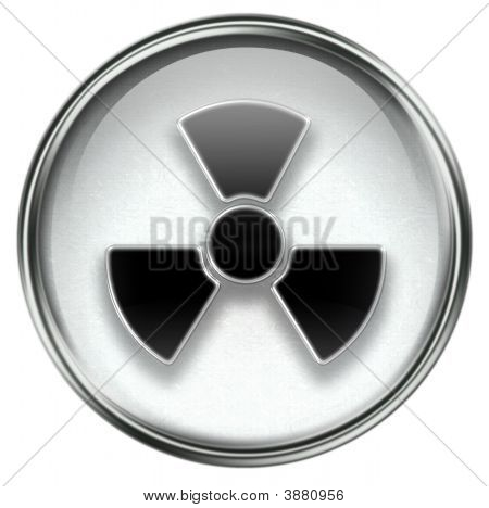 Radioactive Icon Grey