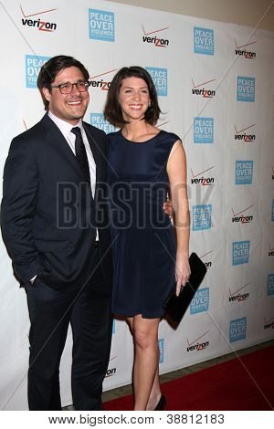 LOS ANGELES - OCT 26:  Rich Sommer arrives at the 41st Annual Peace Over Violence Humanitarian Awards at Beverly Hills Hotel on October 26, 2012 in Beverly Hills, CA