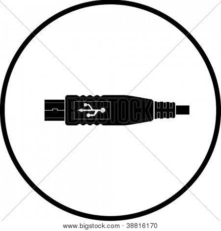 usb mini plug symbol