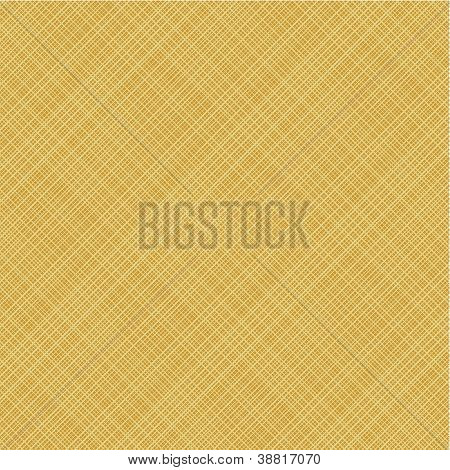 Diagonal weave canvas background, seamless pattern included