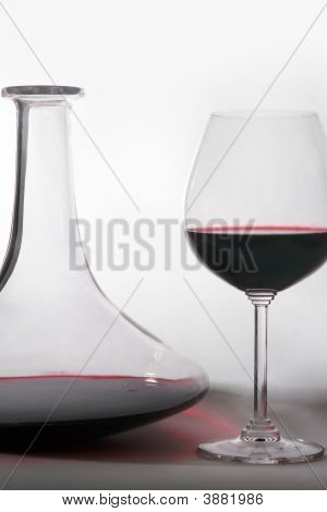 Wine And Decanter