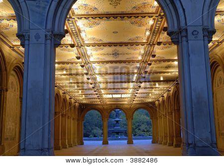 Central Park Bethesda Terrace arcade